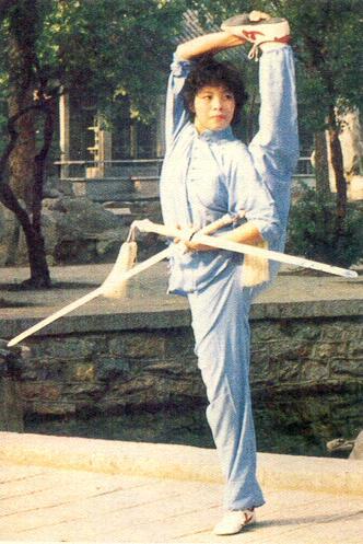 Modernized Wushu