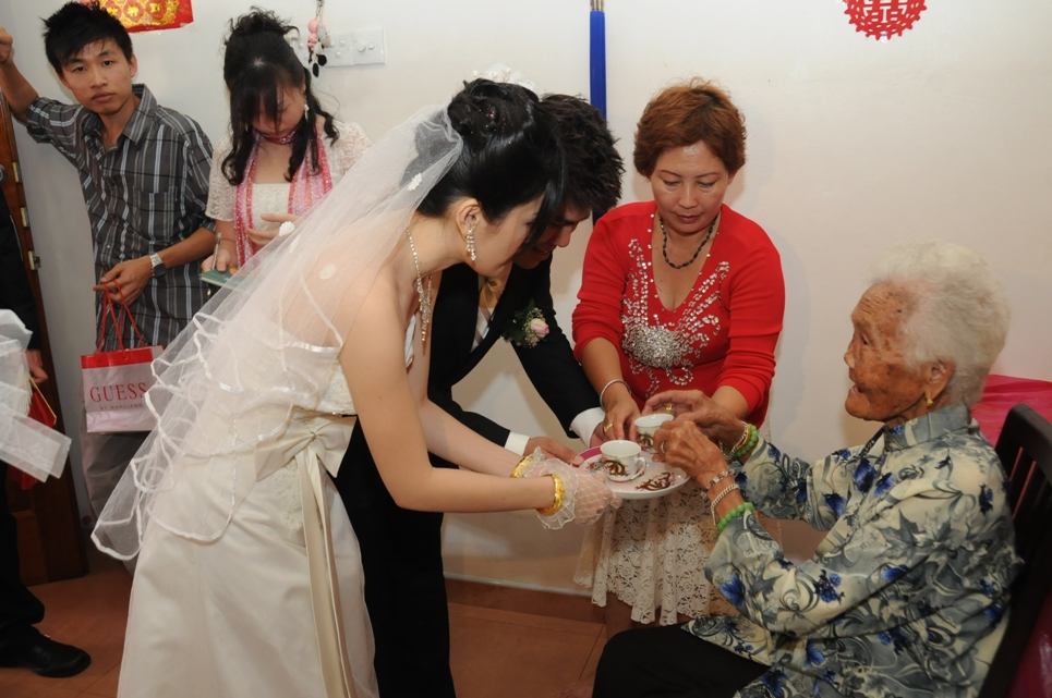 Sifu Wong Chun Nga's Wedding
