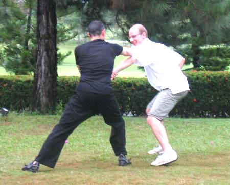 Shaolin Kung Fu Sparring