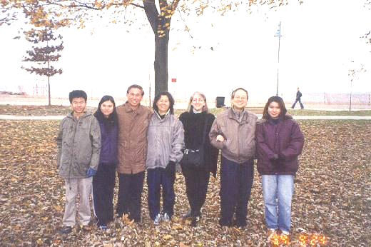 Sifu Wong and Family