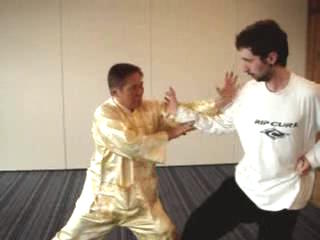 kung fu sparring