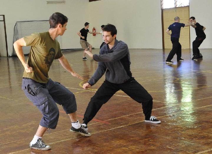 Shaolin Sparring