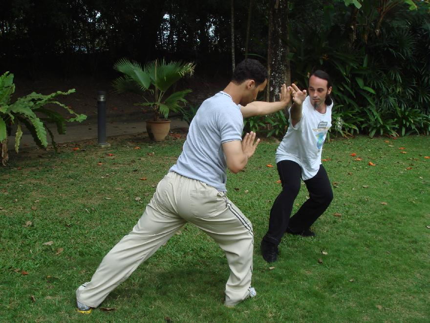 Sparring in Shaolin Kung Fu
