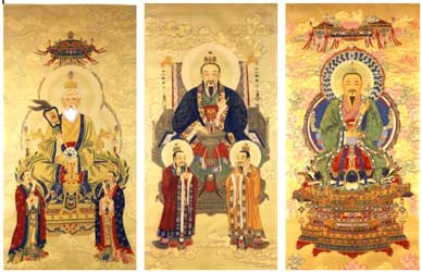 The Three Supreme Taoist Gods