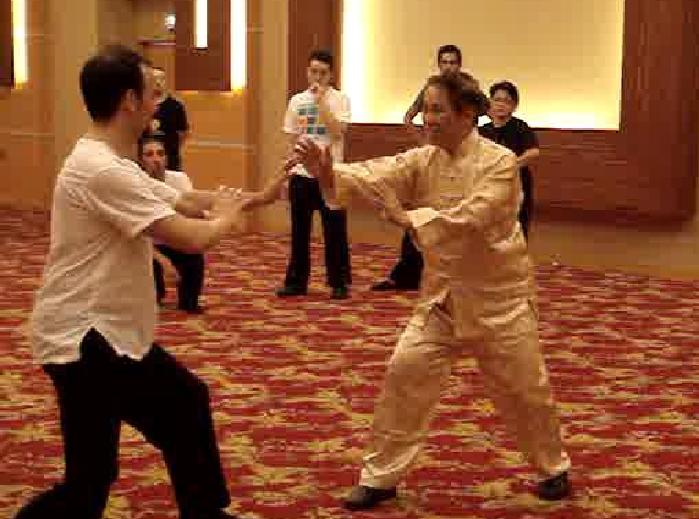Sifu Tim and Grandmaster Wong Kiew Kit