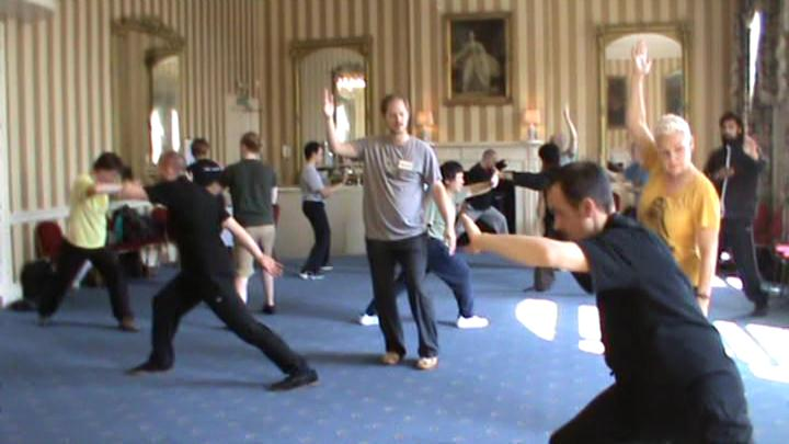 Baguazhang at UK Summer Camp