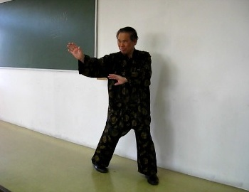 Green Dragon Tests Claw of Baguazhang