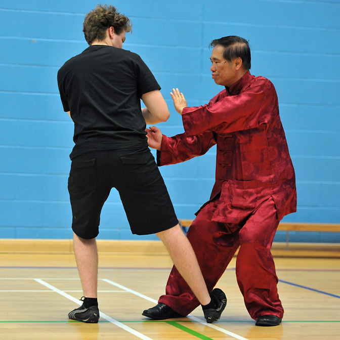 Xingyiquan at UK Summer Camp