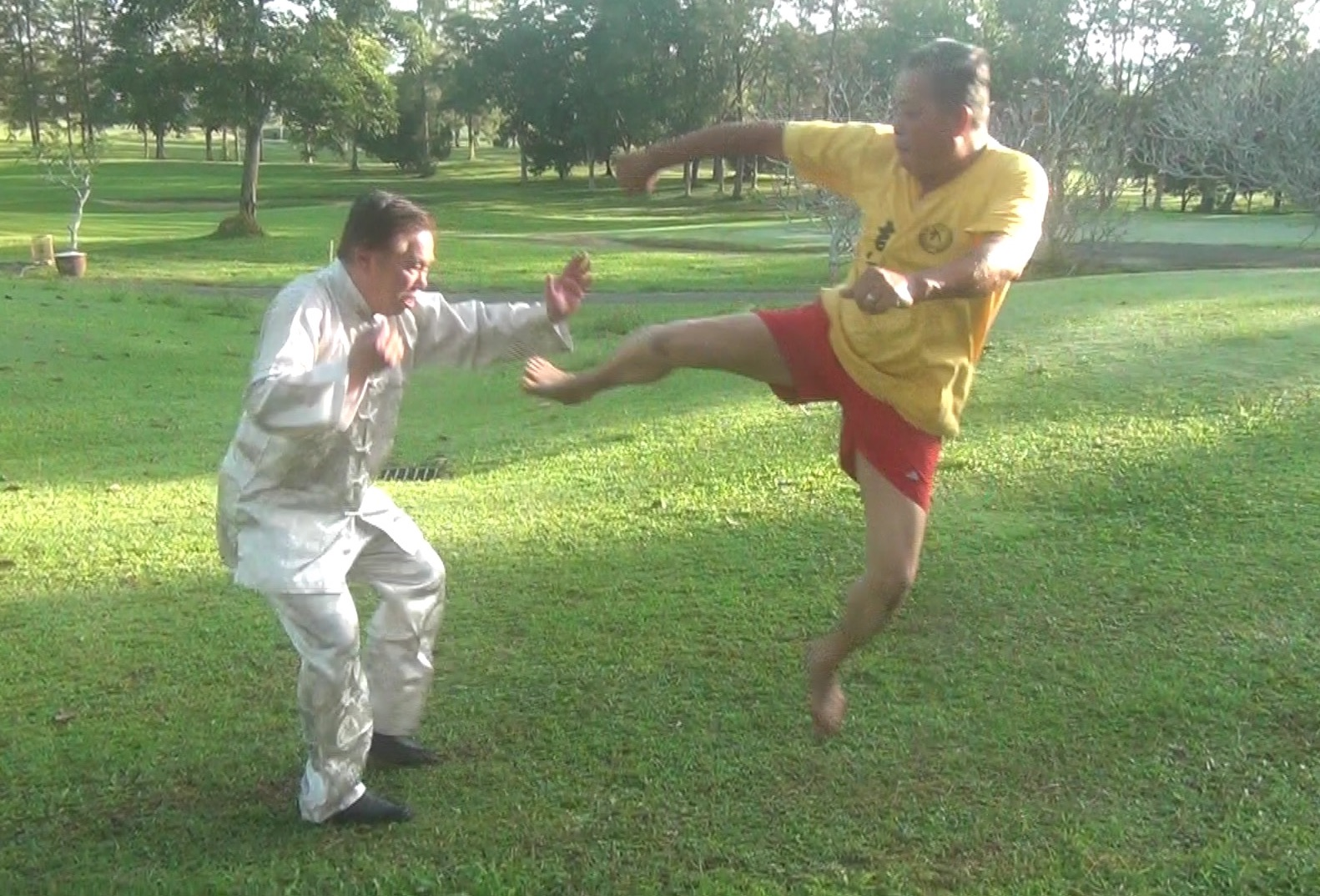 Shaolin against Muay Thai