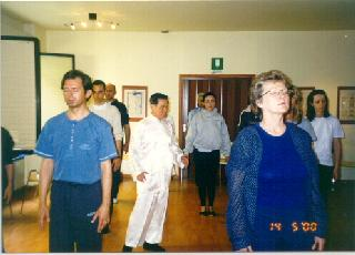 chi kung class in Italy