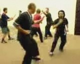 kungfu free sparring
