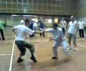 Shaolin Kungfu moving in
